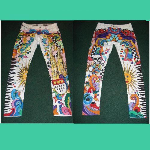 ber ideen zu bemalte jeans auf pinterest jeansjacken jeans und versch nerte jeans. Black Bedroom Furniture Sets. Home Design Ideas
