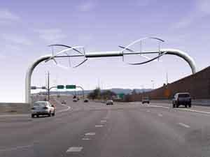 Windmolen snelweg
