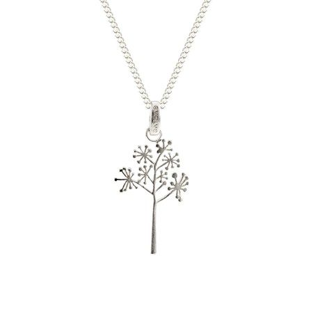 Aotearoa Jewellery Collection - cabbage tree blossom pendant - Global Culture & evolve New Zealand