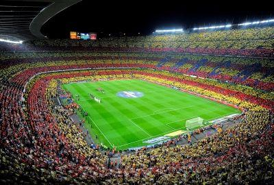 スペイン バルサ カンプ・ノウ サッカースタジアムの壁紙   壁紙キングダム PC・デスクトップ版