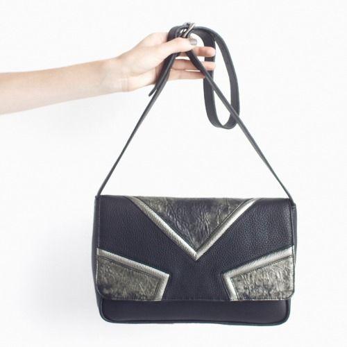 DAMAGED DUCHESS. Opal Bronze (Leather Shoulder Bag ) http://shop.damaged-duchess.com/product/dd101-bb