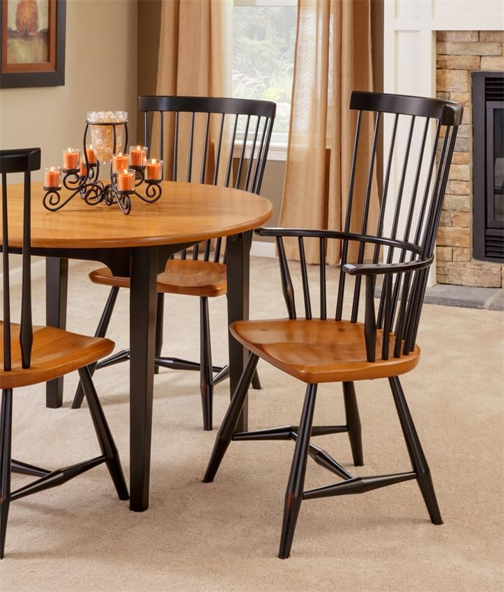 Amish Sherman Windsor Dining Chair