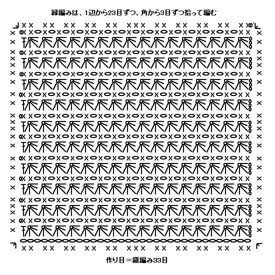 スタークロッシェのポットマット