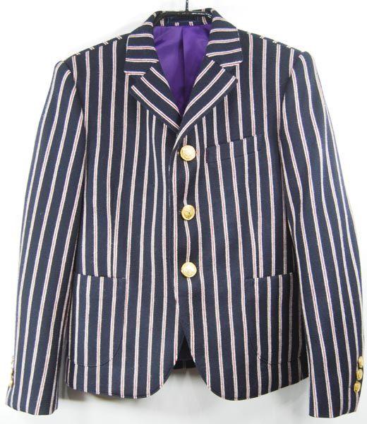 【楽天市場】【モッズ】ウインシールズ 子供服Winseals3Bロンドンストライプジャケット(140cm~160cm)袖丈の長さが選べるジャケット[代引不可]卒業式 子供服 フォーマル 男の子モッズ スーツ:ケスケスモペットラブフォーキッズ