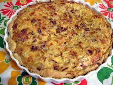 Quiche Oignon & Cumin — Best Pie Bakeoff 2008 Entry #14