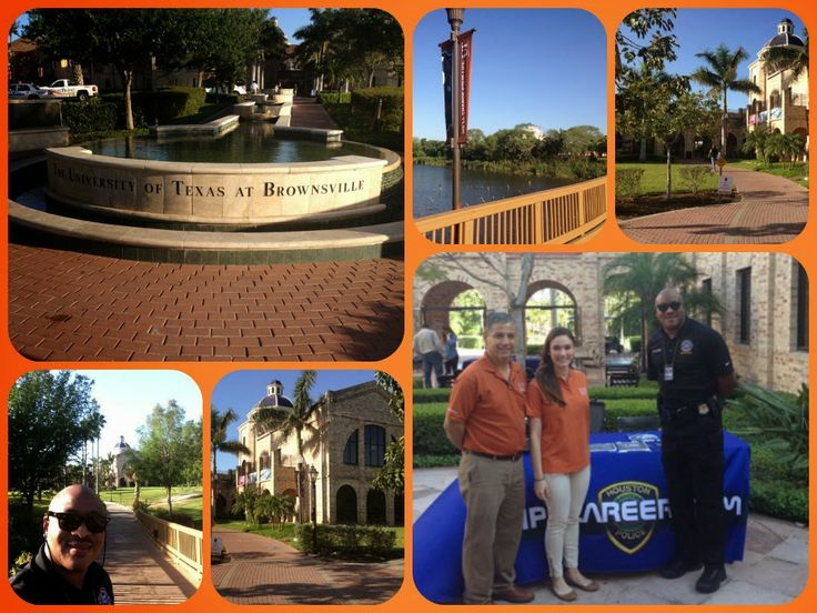 Houston Police Department Recruiters at UT Brownsville