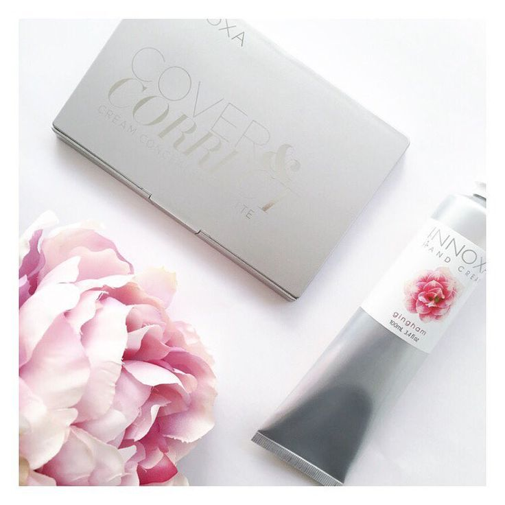 """The Bargain Diaries on Instagram: """"@pricelineau currently have 40% off the @innoxaaus cosmetics range! I couldn't resist purchasing this hand cream was a steal at just $5.97, and the cover and correct cream concealer face palette was just $14.97! How pretty is the packaging! #Priceline #pricelinehaul #innoxa #cosmetics #makeup #beauty #innoxalove"""""""