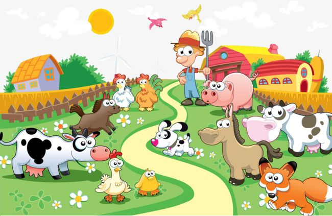 Cartoon clipart farm animal, Cartoon farm animal Transparent FREE for  download on WebStockReview 2020