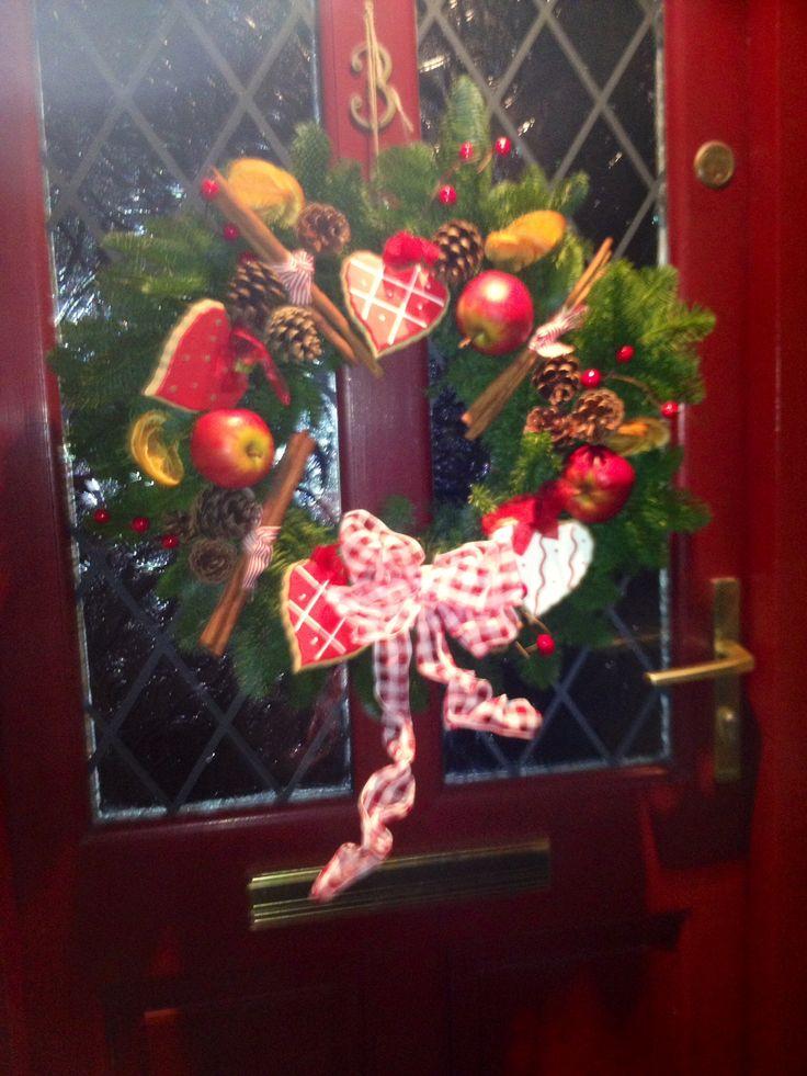 Christmas door wreath