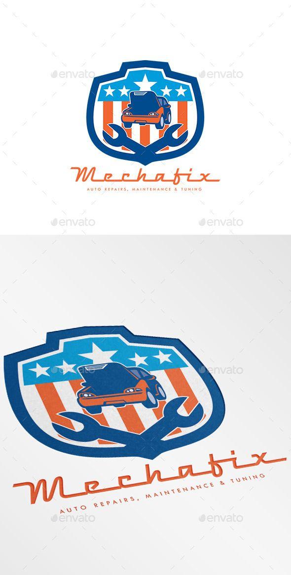 74 best logo auto repairing images on pinterest logo templates rh pinterest com Auto Detailing Flyer Ideas Automotive Repair Flyer