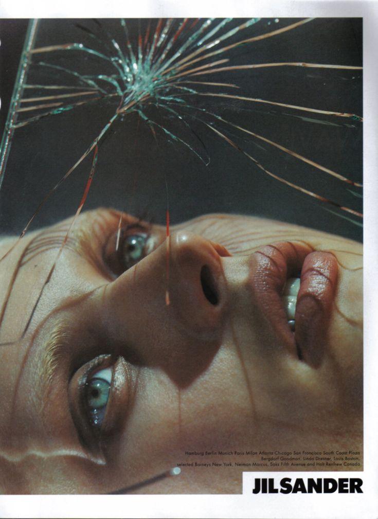 Jil Sander - Spring 2000   By Mario Sorrenti  Model Malgosia Bela