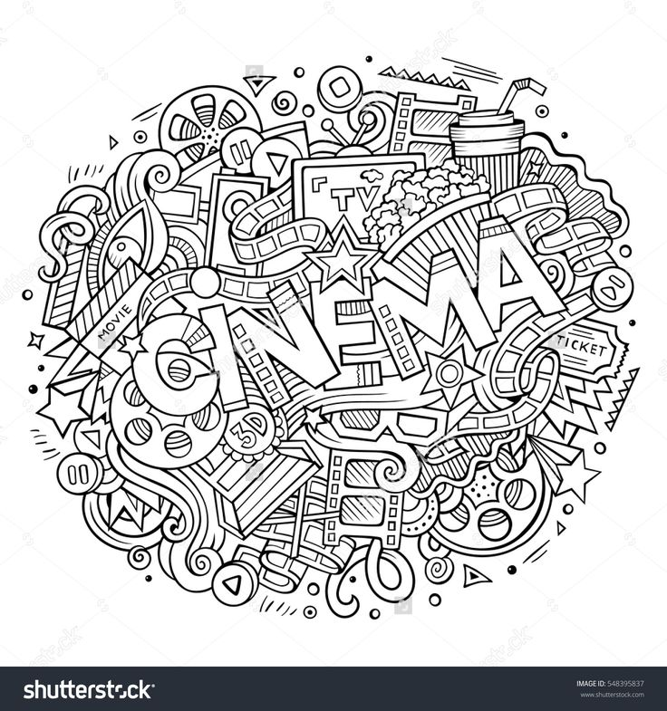 movie theme coloring pages - photo#6