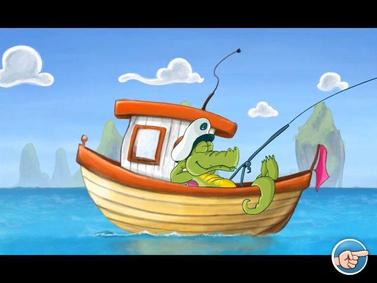 application enfant vacances - le monde de Gaspard - croco bateau
