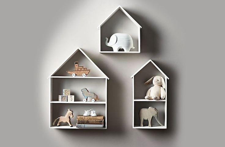 Полка-домик | Кровати-чердаки | Кровати-домики | Двухъярусные кровати | Детские кровати | Фабрика детской мебели BukWood | Буквуд