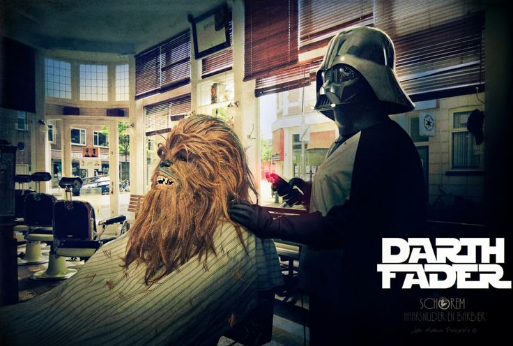 The final battle...Chewbacca VS Darth...