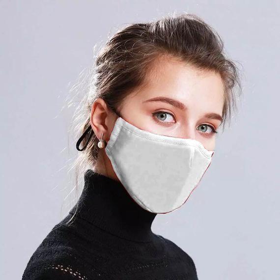 Material antivaho: Gafas Transparentes con Lentes Transparentes Gafas Protectoras de Seguridad para ni/ños y Adultos L, 1 PC SDERS Ranblf Face Cover dise/ñado con Estilo de Moda