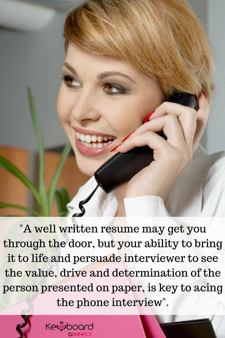 Phone Interview Tip for Job Seekers Looking for Remote Employment.