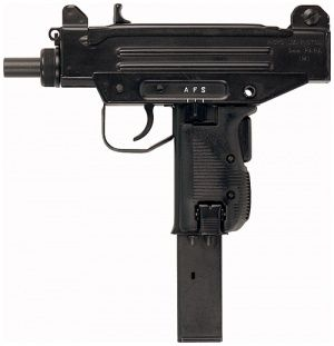 Micro Uzi with 32 rd magazine - 9mm