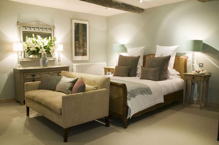 And So To Bed's Corbiere bed looking so at home in one of the restful bedrooms at Calcot Manor Hotel & Spa in The Cotswolds