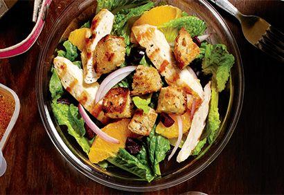 #Salade de #poulet à l'orange #orange #lunch