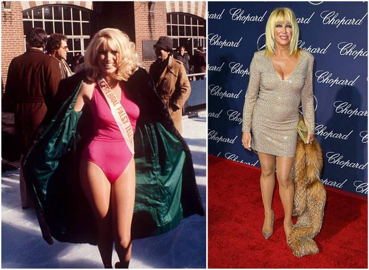 Suzanne Somers' body measurements
