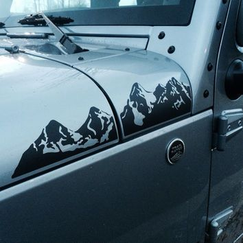 mountain decal for car - Google Search