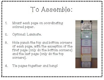 Tie Your Ideas Together with Transition Words Display: Great display for your classroom for any class working on their transition words!