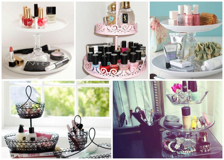 5 Idei de organizare pentru produsele de machiaj - Emilly. #machiaj #cosmetice #makeup #beauty