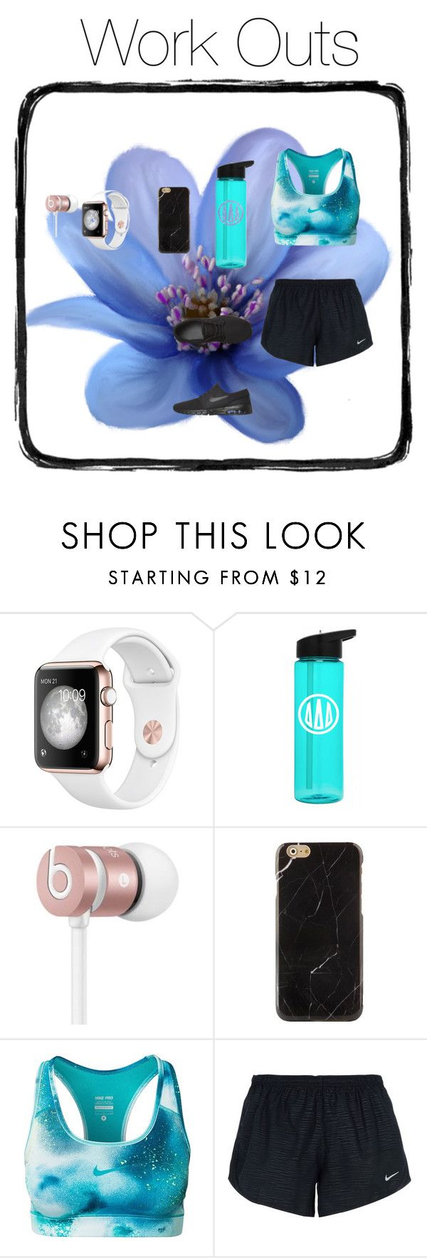 """Work Out/Jogging Clothes"" by zaylee871 ❤ liked on Polyvore featuring Beats by Dr. Dre and NIKE"