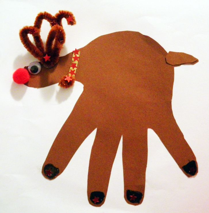All of my children have made these after different times in Sunday school. Very easy to make and fun to look back on from year to year. We never added tails, though.