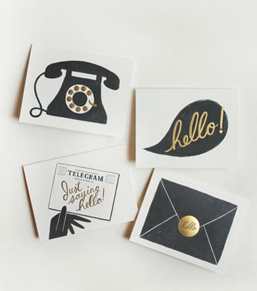 Assorted Hello Cards by Rifle Paper Co.