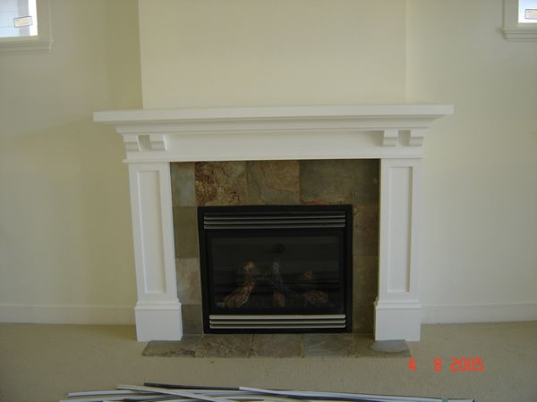 The 25 best craftsman fireplace mantels ideas on for Craftsman fireplaces photos