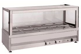 Minox DM62-10 Square Bain Marie - Hot Food Display & Bain Marie - Kitchen & Catering Equipment