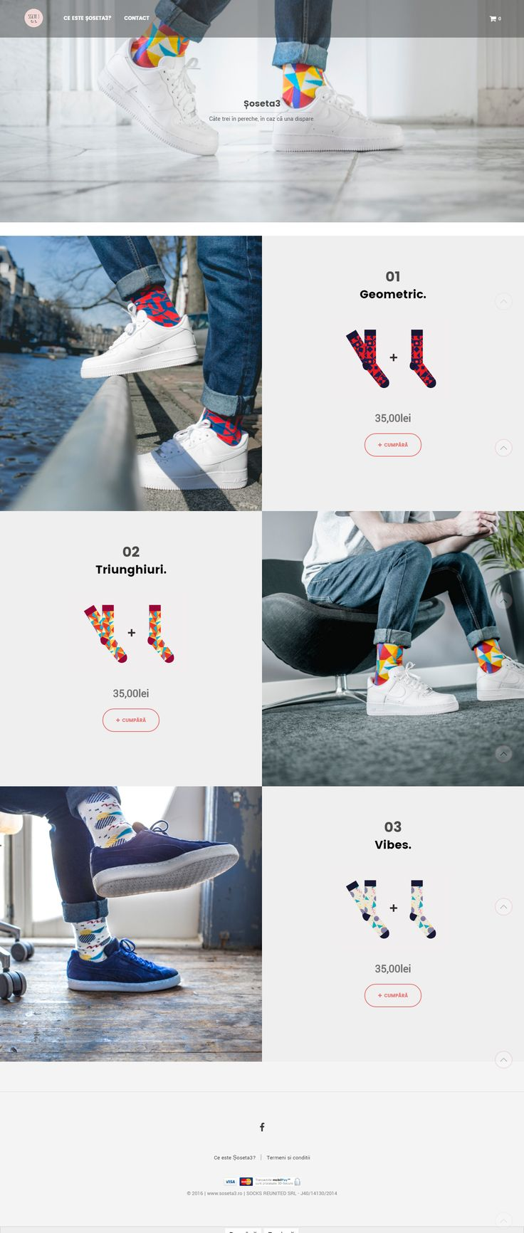 A funky socks shop created using Shopkeeper theme for WordPress http://themeforest.net/item/shopkeeper-responsive-wordpress-theme/9553045?&utm_source=pinterest.com&utm_medium=social&utm_content=soseta&utm_campaign=showcase #onlineshop #ecommerce #socks #clothing #webdesign #UX