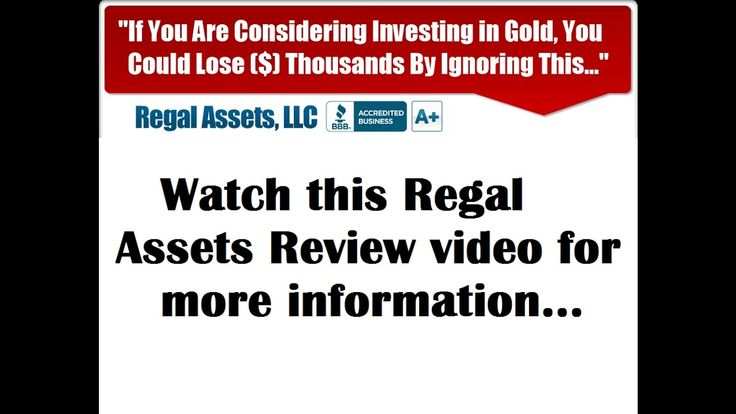 Regal Assets Review - Gold IRA Rollover Guide