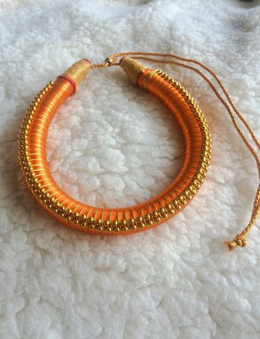 Buy Silk Thread Light weight Necklace on Bonyhub.com