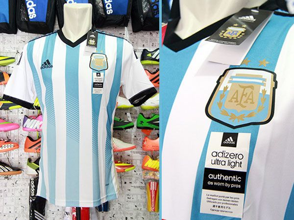 Jersey Argentina Home World Cup 2014 Rp 110.000