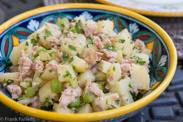 Insalata di patate e tonno (Potato Tuna Salad) | Memorie di Angelina