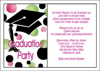 82 best graduation party open house invitations images on pinterest browse our gigantic library of graduation invitation wording samples for open house party ensure your unique open house invitations wordings are stopboris Image collections