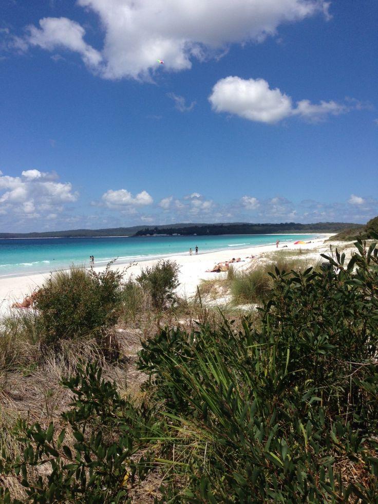 Whitest sand in the world   Hyams Beach, Australia