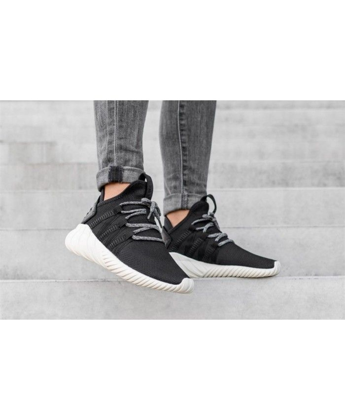 buy popular 9364e 6f004 ... adidas tubular dawn w core black core black off white shoes