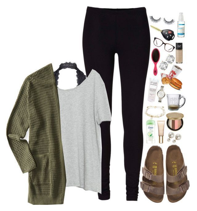 NOT the Birkenstocks!!!14 casual spring outfits with leggings that you can wear ... 2