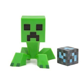 Minecraft Creeper Vinyl Figure  -hings in life give us the heebie jeebies. Moths. Spiders. Clowns. Embarrassing bodies. The Thing. Cotton wool. Scarecrows. Geordie Shore. Björk. Tinned ravioli. Anything with long legs. The list is quite small. But topping all of them would have to be Creepers.  If you're not into Minecraft you ma ** BARGAIN! **