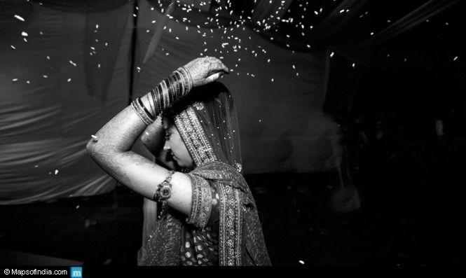 Unusual Wedding Rituals In India