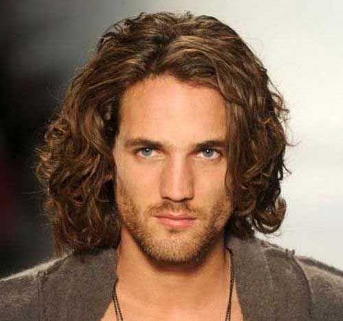 Mens Long Hairstyles For Thick Hair Hair Pinterest