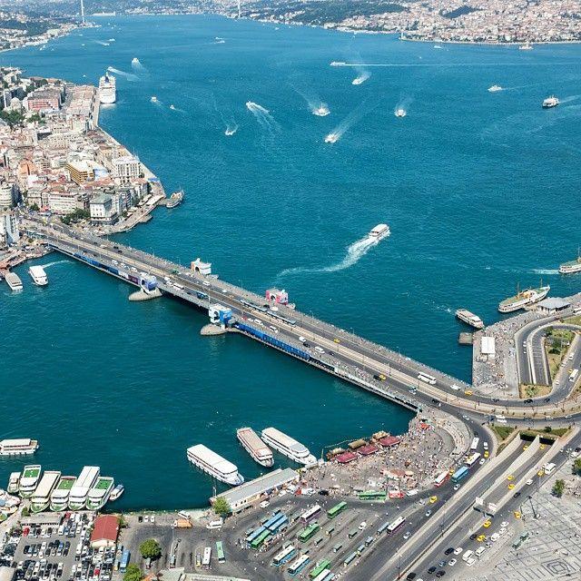 ahguzelistanbul:Galata Köprüsü-İstanbul By mcetin45