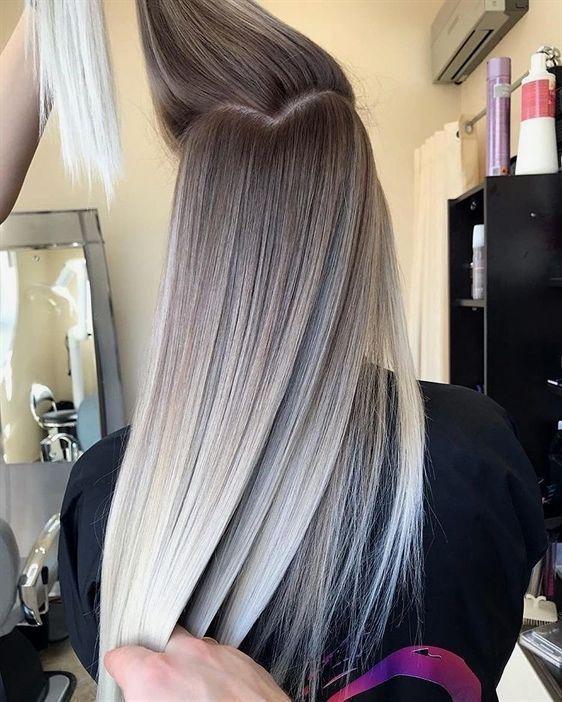 10 wunderschöne Ombre, Balayage Frisuren für langes Haar, Frisuren 2019