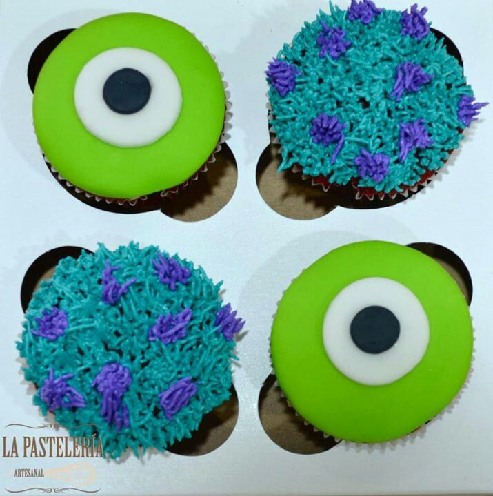 Monsters Inc. Cupcake