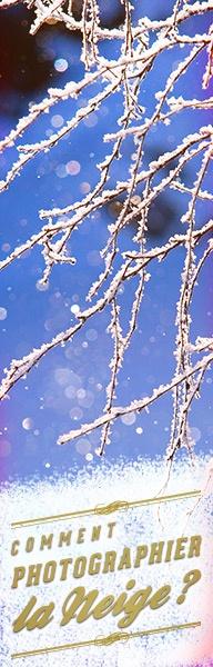 Comment photographier la neige ? Quelles sont les astuces pour avoir une neige bien blanche, et des flocons bien nets ? Voici les réponses à vos questions :)