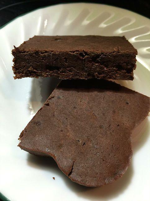 Gluten Free Fudge Brownie Chocolate Protein Bars